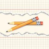 Pair of pencils Stock Photo