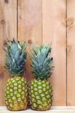 A pair of pineapple Stock Images