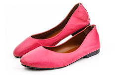 A pair of pink casual shoe Royalty Free Stock Photos