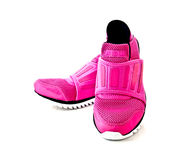 Pair of pink lady sport shoes 2 Royalty Free Stock Photo