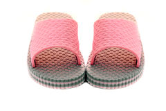 Pair of pink sandals Stock Photography