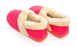Pair of pink shoes for lady Royalty Free Stock Photography