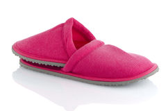 A pair of pink slippers Stock Photography