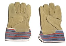 Pair of protective gloves Royalty Free Stock Image