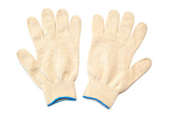 Pair of protective gloves royalty free stock photo