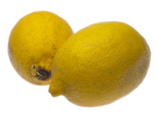 Pair of Quirky Lemons Stock Photography