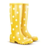 Pair of rain boots Stock Images