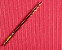 A pair of red chopsticks Royalty Free Stock Images
