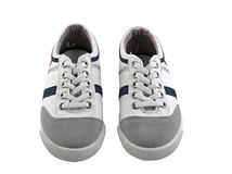 A pair of regular sneakers Royalty Free Stock Images