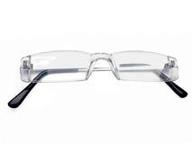 Pair of rimless eye glasses, reading glasses, eyeglass frames, 2 Royalty Free Stock Photo