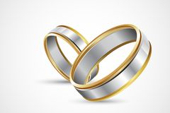 Pair of Rings Stock Photography