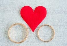 Pair of rings Stock Image