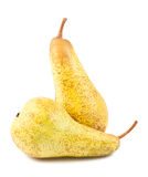 Pair of ripe pears Stock Photography