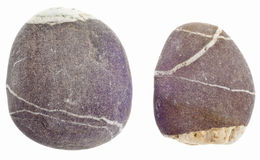 Pair of River Rocks Stock Image