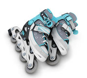 Pair of roller skates Stock Photo