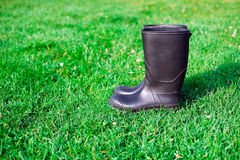 Pair of rubber boots Royalty Free Stock Photography