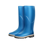 Pair of rubber boots Royalty Free Stock Photo