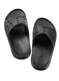 Pair of rubber slippers Stock Photos