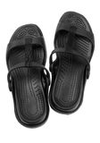 Pair of rubber slippers, isolate Stock Photos