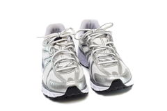 Pair of running shoes Stock Photos