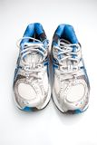 Pair of running shoes on a white background Royalty Free Stock Photo