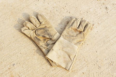 Pair of safety gloves Stock Photos