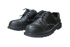 Pair of safety shoes Royalty Free Stock Images