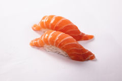 Pair of Salmon Sushi Stock Images