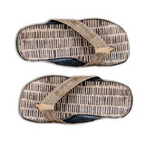 A pair of  sandal bamboo Royalty Free Stock Images