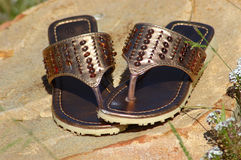 Pair of sandals Stock Image