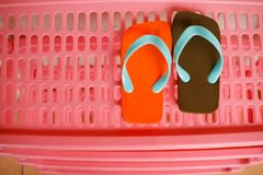 A pair of sandals Stock Images