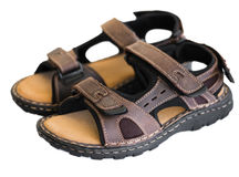 Pair of sandals Royalty Free Stock Images