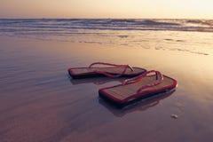 Pair of sandals Stock Photo