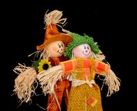 A pair of scarecrow Stock Photos
