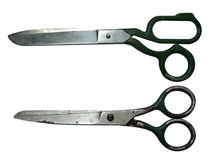 A pair of scissors Royalty Free Stock Photo