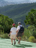 Pair of seniors on an outing. Stock Photography