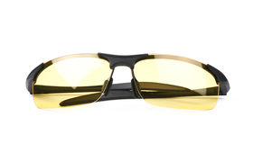 shade glasses 5poz  Pair of shade glasses isolated Stock Photography