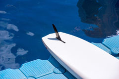 A pair of single stand up paddle in a row 02 Stock Photos