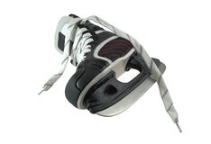 Pair of skates. For game in hockey is isolated on a white background Royalty Free Stock Photos