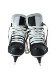 Pair of skates for game in hockey. Is isolated on a white background Stock Photography