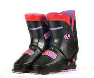 Pair of Ski Boots Royalty Free Stock Photo