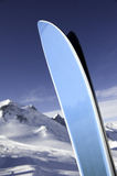 A pair of skis stock images