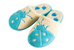 Pair of slippers Royalty Free Stock Photos