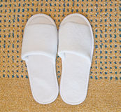 A pair of slippers Stock Images