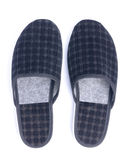 Pair of slippers on a white Stock Images