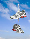 Pair of sneakers Royalty Free Stock Photography