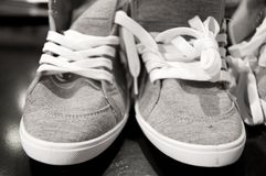 Pair of sneakers Royalty Free Stock Photo