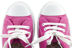 Pair of sneakers Stock Image