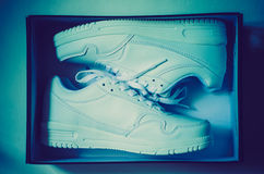 A pair of sneakers Royalty Free Stock Photo