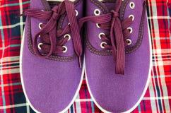 Pair of sneakers Royalty Free Stock Image